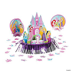 "Disney Princess ""1st Birthday"" Table Decorating Kit"