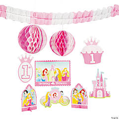 "Disney Princess ""1st Birthday"" Room Decorating Kit"