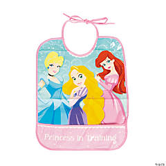 Disney Princess 1st Birthday Baby Bib