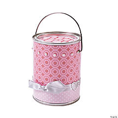 Valentine Treat Bucket Idea
