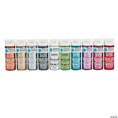 Martha Stewart Crafts™ Glitter Paint Set