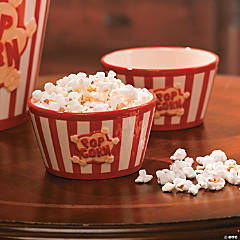 Small Popcorn Bowl Set