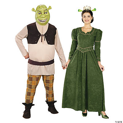 Shrek & Princess Fiona Couples Costumes