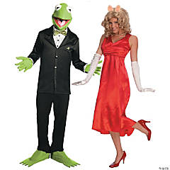 Kermit & Miss Piggy Couples Costumes