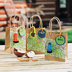 Camp Adventure Favor Bags Idea