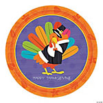 Fun Turkey Dinner Plates
