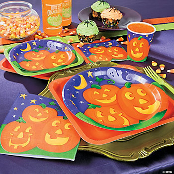 Pumpkin Cheer Dinner Plates
