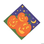 Pumpkin Cheer Luncheon Napkins