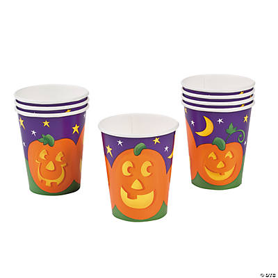 Pumpkin Cheer Cups