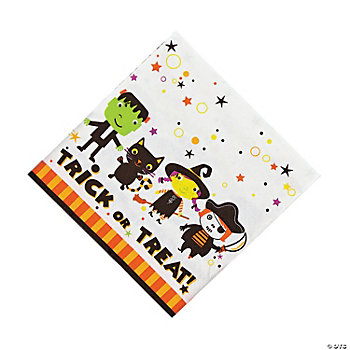 Tiny Terrors Luncheon Napkins
