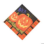 Jolly Jack-O'-Lanterns Luncheon Napkins