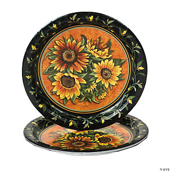 Sweet Sunflower Dinner Plates