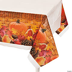 Harvest Basket Table Cover
