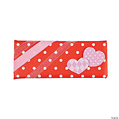 Red Hot Love Dots Candy Bar Wrap