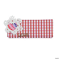 Plaidly In Love Candy Bar Wrap Idea