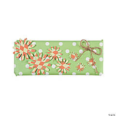 Flower Power Candy Bar Wrap
