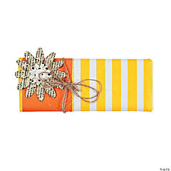 Yellow & Orange Forever Candy Bar Wrap Idea