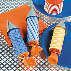Rocket Party Favors Idea