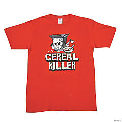 """Cereal Killer"" XXL Adult T-Shirt"