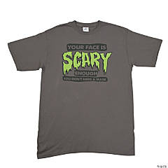 """Your Face Is Scary"" XL Adult T-Shirt"