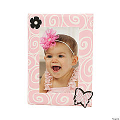 DIY Baby Girl Frame Idea