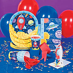 1st Birthday Rocket Party Supplies