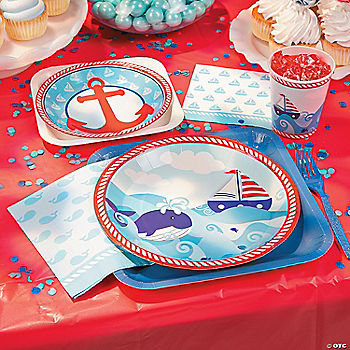 1st Birthday Sailor Basic Party Pack