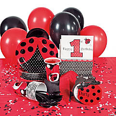 1st Birthday Ladybug Fancy Party Supplies