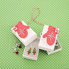 Christmas Mitten Gift Boxes Idea