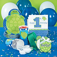 1st Birthday Mr. Turtle Party Supplies