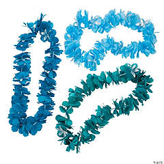 Cool Tone Metallic Lei Assortment