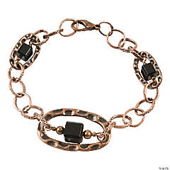 Copper & Black Bracelet