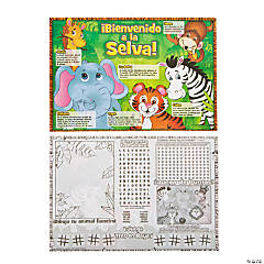 Paper Jungle Place Mat - Spanish