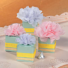Mini Flower Gift Box Idea