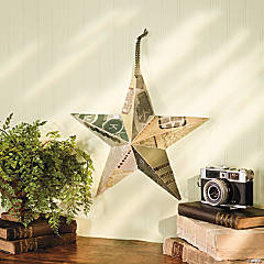 Vintage Barn Star Idea