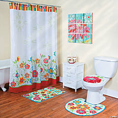 Spring Brights Bathroom