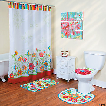 Spring Brights Bathroom Collection