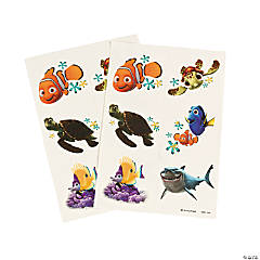 Nemo's Coral Reef Tattoos