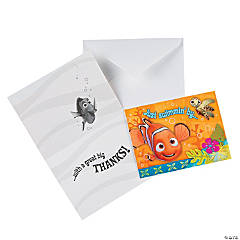 Nemo's Coral Reef Thank You Notes
