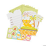 Sweet Circle of Life Baby Shower Invitations With Seals
