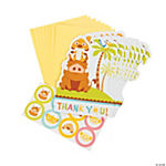 Sweet Circle Of Life Baby Shower Thank You Postcards