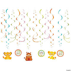 Sweet Circle of Life Hanging Swirl Decorations