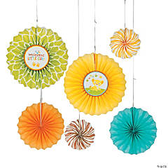Sweet Circle Of Life Paper Fan Decorations