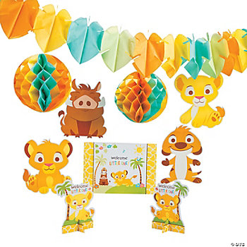 Lion King Baby Decorating Kit