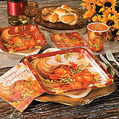 Abundant Cornucopia Thanksgiving Party Supplies