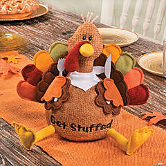 "Plush ""Get Stuffed"" Turkey"