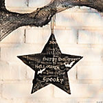 Halloween Print Barn Star