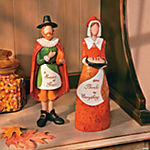 Embossed Pilgrim Figurines