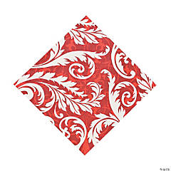 Peppermint Swirl Luncheon Napkins