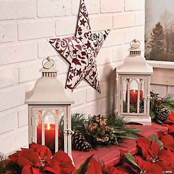 Red & White Holiday Accents
